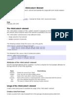 Struts HTML Select En