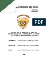 Análisis Del Sicariato en El Perú