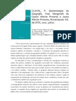 Resenha_Epistemologia Georafia_Paul Claval 2