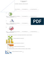 Guía Para Evaluación fracciones tercero basico