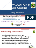 Job Evaluation Using Hay Method_additional Class