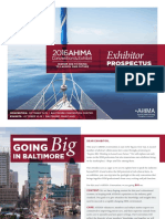 AHIMA Exhibit Prospectus 2016 Baltimore Digital