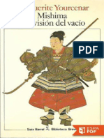 Mishima o La Vision Del Vacio - Marguerite Yourcenar