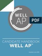 WELL AP Candidate Handbook
