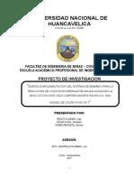 Trabajo de Investigacion de La Mina Raura Bombas