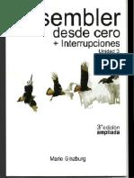 Assembler Desde Cero + Interrupciones, Unidad 3