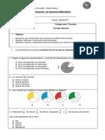 Evaluación Matemática Fracciones 29.08