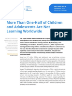 Unesco More Than Half Children Not Learning en 2017