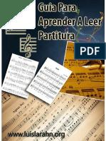 Guia Para Aprender a Leer Partitura