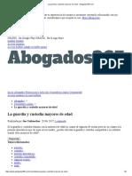 La guardia y custodia mayores de edad - Abogados365.pdf