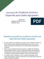 Aula 5 - Medidas de Tendência Central e Dispersão 2