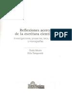 Menin%2c Ovide (2005) El Diseño de Una Tesis (Cap. 2)