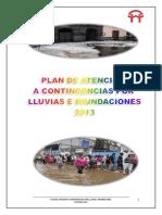 01 Plan de Atencion a Contingencias Por Lluvias e Inundaciones 2013