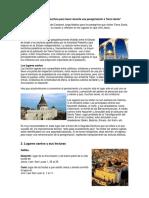Lecturas de la Sagrada Escritura para hacer durante una peregrinación a Tierra Santa.docx