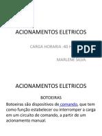 ACIONAMENTOS ELETRICOS