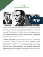 El Oficial Argentino de La SS Carlos Alberto Fuldner