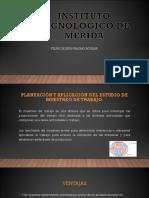 Planeación y Aplicación Del Estudio de Muestreo de Trabajo.
