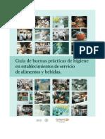 Guia de Buenas Practicas de Higiene en Establecimientos-Cofepris