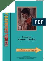 Teoría Gramatical II. Guía.