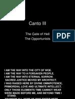 Canto-III