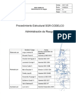 SGR P 006 Administracion de Riesgos