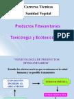 Toxicología y Ecotoxicología de Productos Fitosanitarios2017 TECNICAS