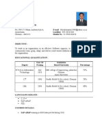35774633 Sap Fresher Resume