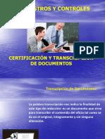 certificacion y transcripcion de documentos administrativos educativos