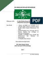 Amaliah Muharram PCNU Jombang