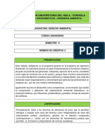 6. Syllabus Derecho Ambiental