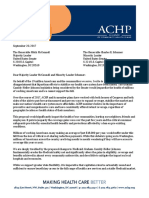 ACHP Letter to Leaders McConnell and Schumer