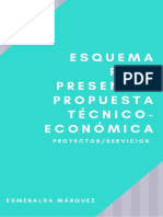 Esquema Para Presentar Propuesta Técnico-económica