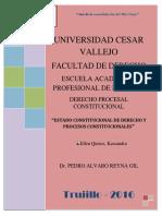 Constitucional Estado de Derecho