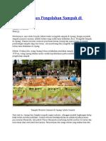Rahasia Sukses Pengolahan Sampah Di Jepang