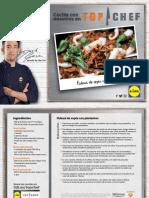 Receta Fideua Sepia Con Pimiento Top Chef Lidl