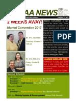 september 21 2017 alumni newsletter