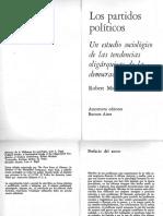 Michels, Robert_Los Partidos Políticos. Un Estudio Sociológico de Las Tendencias (Cap. 7)