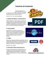 Industrias de Guatemala