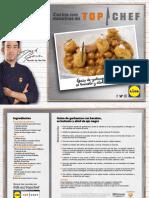 Receta Guiso Garbanzos Bacalao Bunuelo Alioli Ajo Negro Top Chef Lidl