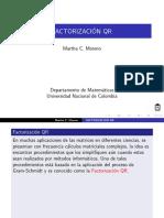 Factorizacion QR