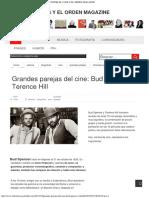 Grandes Parejas Del Cine_ Bud Spencer y Terence Hill _ ENTRE EL CAOS Y EL ORDEN