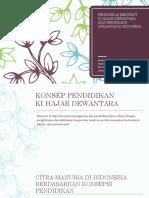 PPT Pendidikan menurut Ki Hajar Dewantara