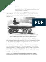 Historia de Vehiculo Electrico