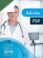 Cuadro Medico Adeslas GRANADA