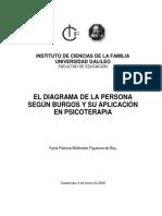 152894220 El Diagrama de La Persona Segun Burgos y Su Aplicacion en Psicoterapia Tesis Para Recibir El Grado de Licenciado en Ciencias de La Familia Karla Mol