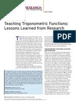 11 teaching trigonometric functions nctm