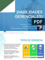 Tipos de Gerencia - Habilidades Gerenciales