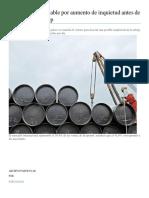 Petróleo cierra estable por aumento de inquietud antes de reunión de la Opep.docx
