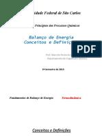 PPQ Aula 10 - Balanço de Energia-Definições