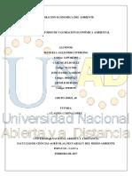 Revisión Métodos de Valoración Económica Ambiental